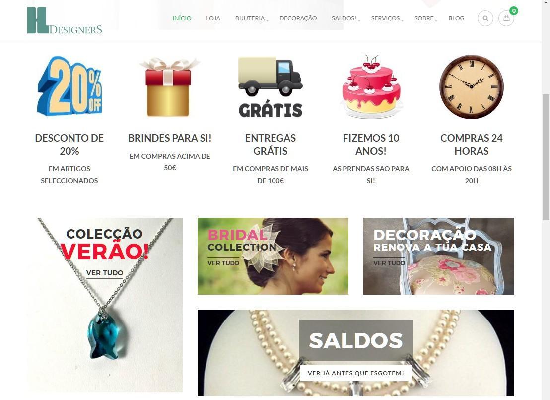 Portfolio ecommerce