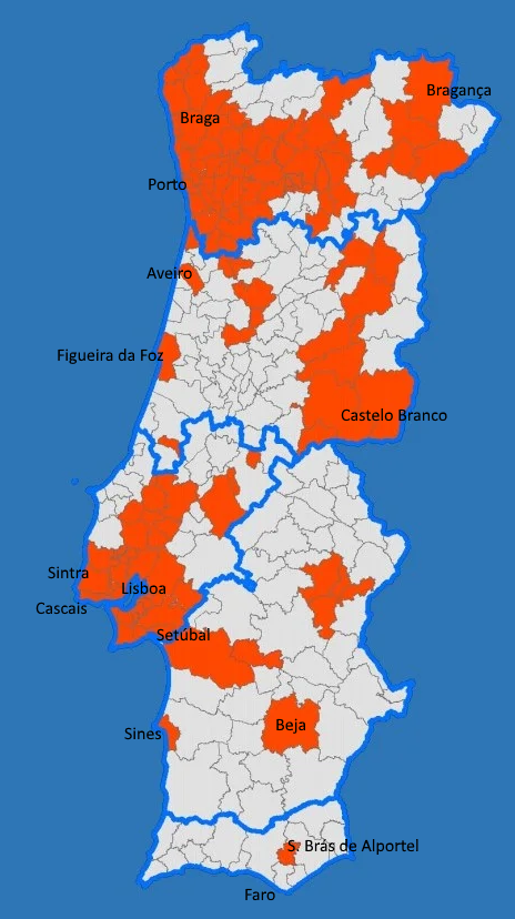 State of Emergency in Portugal November 2020