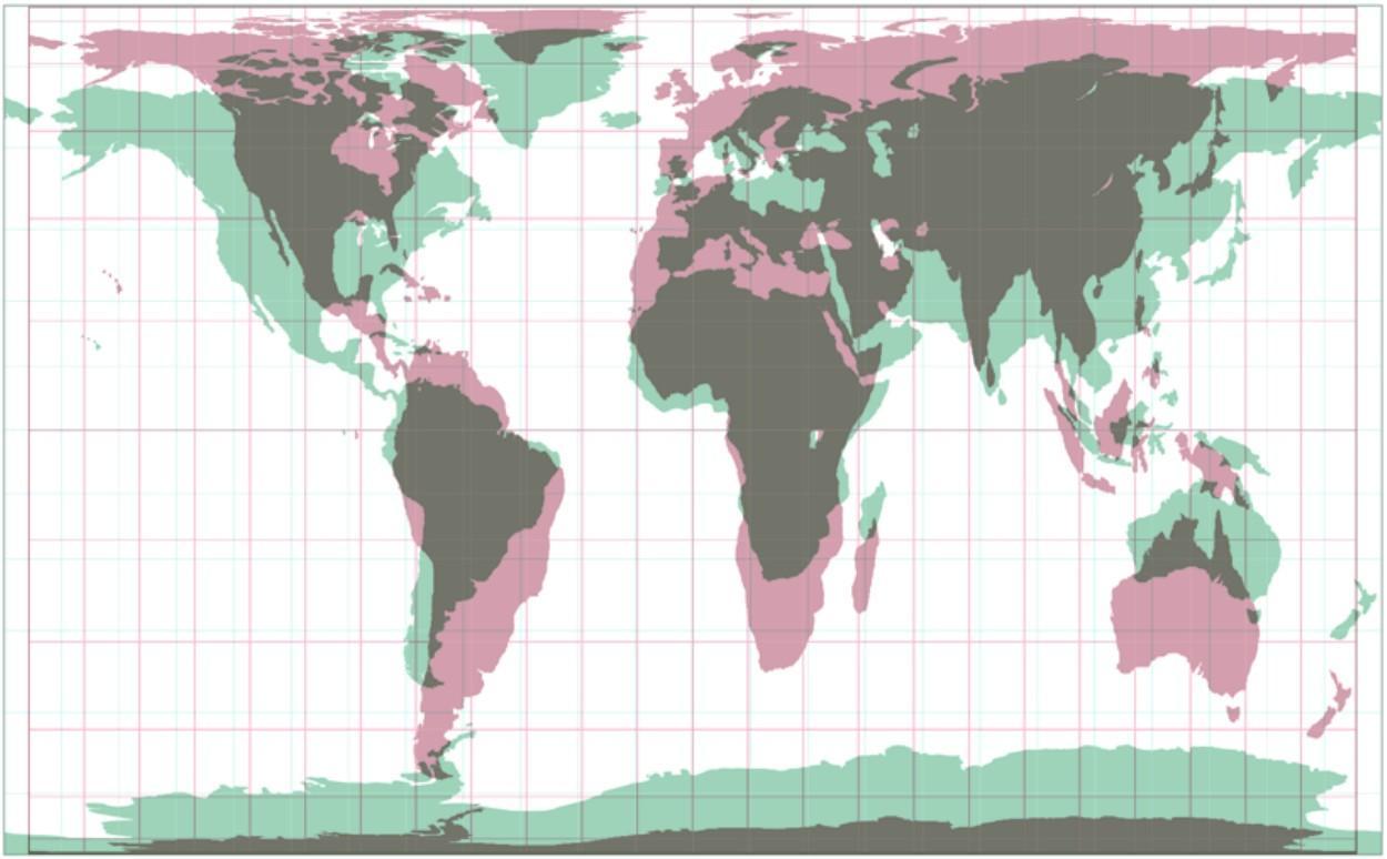 O que está de errado no mapa do mundo