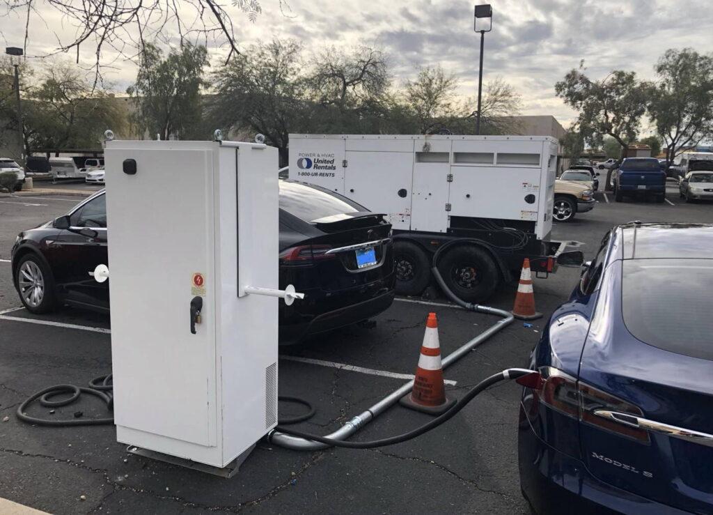Tesla a diesel